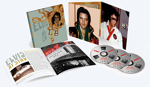 Elvis At STAX : Deluxe Edition : 3 CD Box Set.