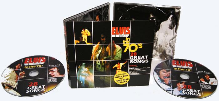 Elvis In The '70s double CD Set