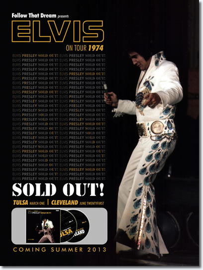 Elvis Presley Sold Out! : FTD 2 CD 1974 Soundboards : Tulsa and Cleveland [7