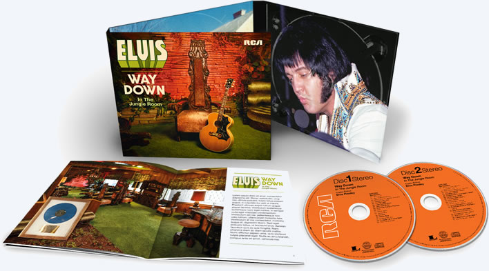 'Elvis : Way Down In The Jungle Room' 2 CD Set.