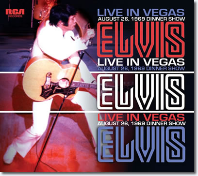 Elvis : White Night In Vegas August 26,1969 Las Vegas CD