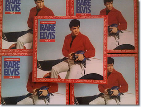 Rare Elvis Volume 7 CD : The California Recordings : 6 Panel Digipack