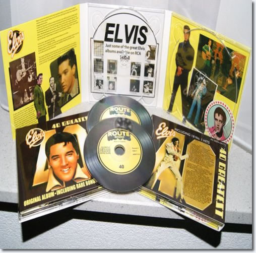 Elvis 40 Greatest Hits : 1975 Compilation CD Release