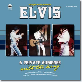 A Private Audience With The King CD from Straight Arrow