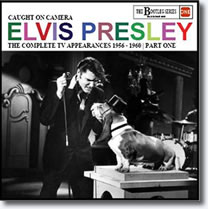 Elvis Presley : Caught On Camera Part 1 CD : The Complete TV Appearances 1956-1960 Part 1