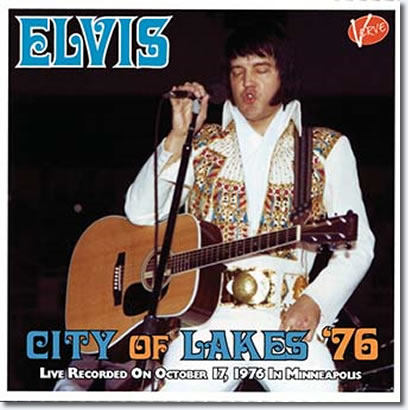 Elvis : City Of lakes '76 CD
