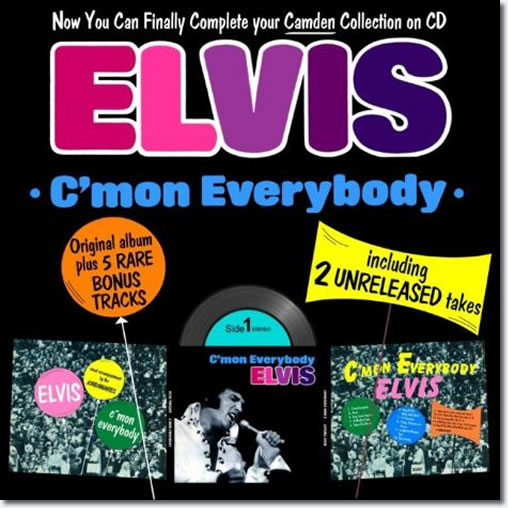 Elvis : Come On Everybody CD