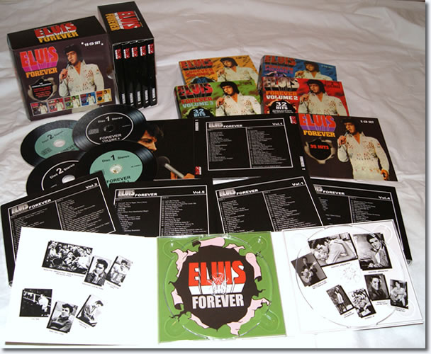 Elvis Forever 5 CD Series with Collectors Box