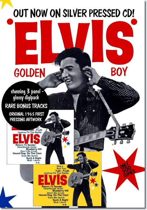 Elvis Golden Boy CD