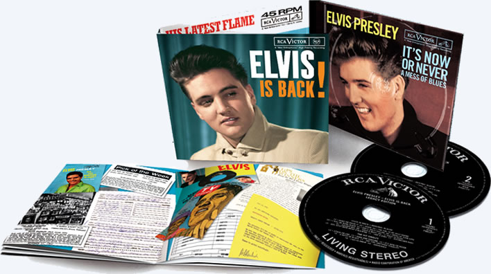 Elvis Is Back! - 2 CD Legacy Edition Elvis Is Back! + Something For Everybody