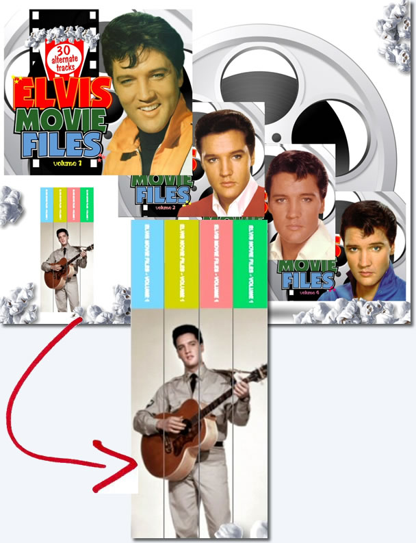 Elvis Movie Files Volume CD Series.
