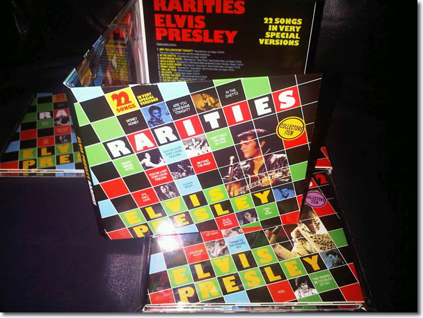 Elvis : Rarities 1 CD