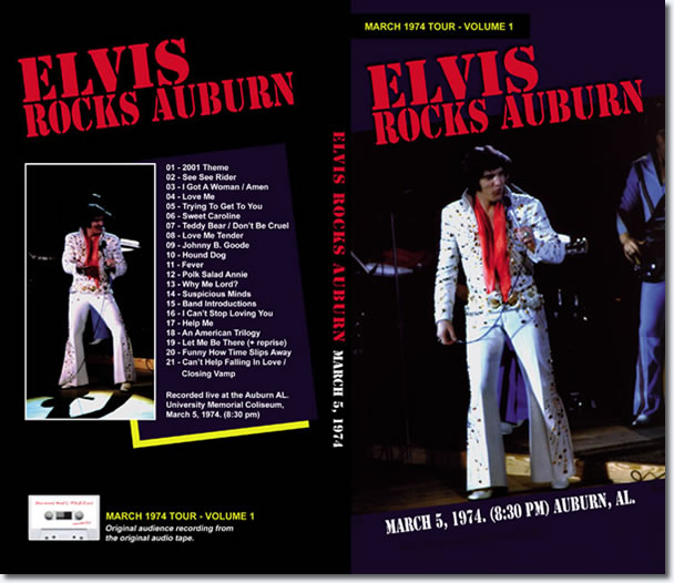 Elvis Rocks Auburn: Longbox : 1974 tour Volume 1 CD