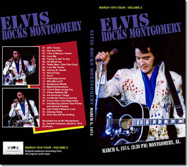 Elvis Rocks Montgomery : Longbox 1974 tour Volume 2 CD