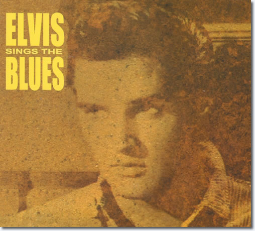 Elvis Sings The Blues CD : Front Cover.