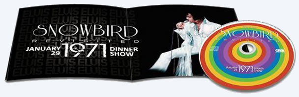 Elvis : Snowbird Revisited CD : January 29, 1971 Dinner show