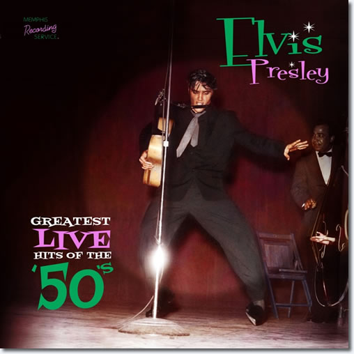 Greatest Live Hits of the 50's CD From MRS