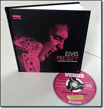 Keeping Them Warm : hardcover book & CD from Venus