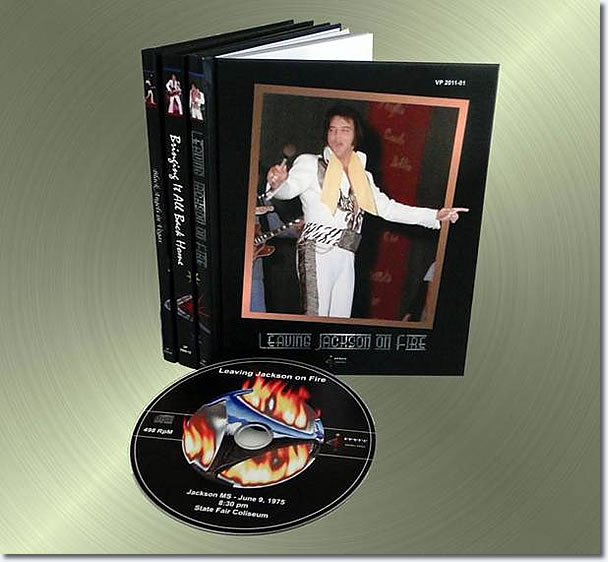 Leaving Jackson On Fire CD / Book