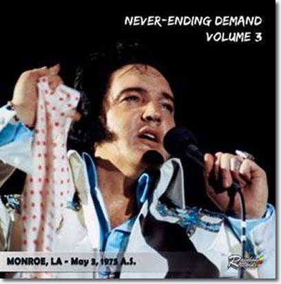 Never Ending Demand Volume 3 CD : Monroe 3.5.75 A/S