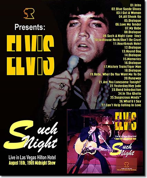 Such Night CD : August 16, 1969 Midnight Show
