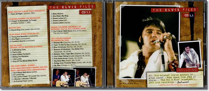The Elvis Files 1.1 CD