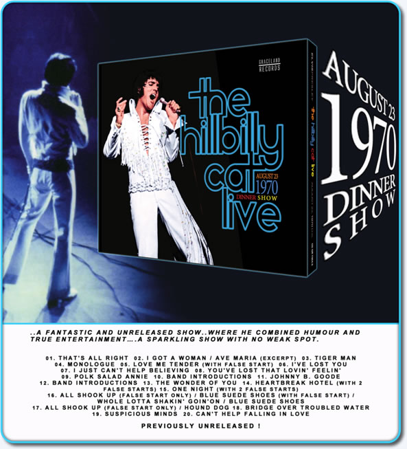 The Hilbilly Cat Live CD