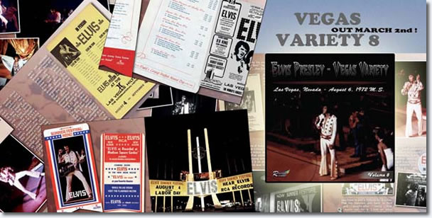 Vegas Variety Volume 8 CD