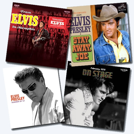 "The Follow That Dream Collector's label will release three new titles along with the already announced book, Summer '61 in April. The titles are, From Elvis In Memphis [FTD 7"" 2 CD Classic Album Presentation'], Stay Away Joe [FTD 7"" Classic Album Presentation'] and a Special Limited Edition On Stage vinyl 2 LP."