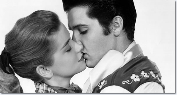Dolores Hart and Elvis Presley : Loving You