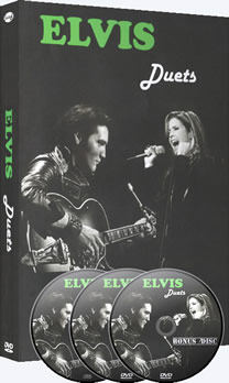 Elvis Duets DVD with Bonus DVD & CD.