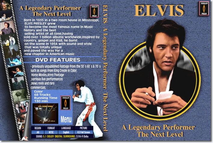 A Legendary Performer The Next Level DVD
