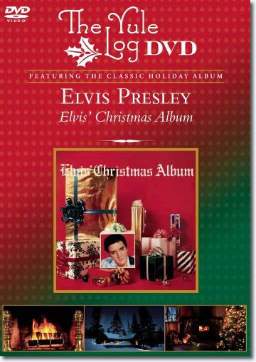 Elvis Christmas : The Yule Log DVD