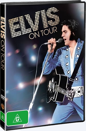 Elvis On Tour PAL Format DVD