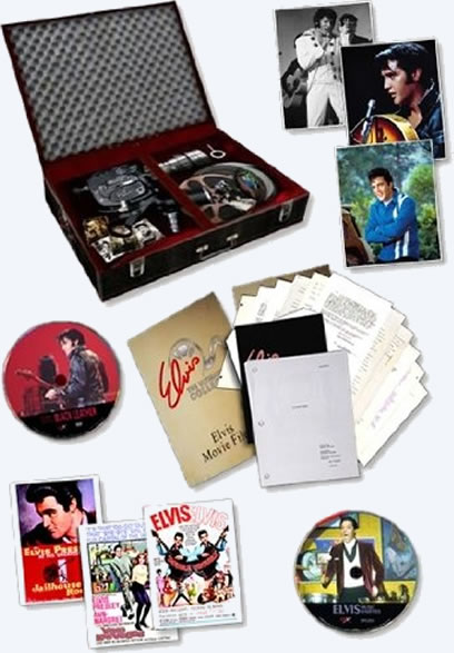 Elvis The Ultimate Film Collection : Graceland Edition - 12 Disc + Book + Rarities
