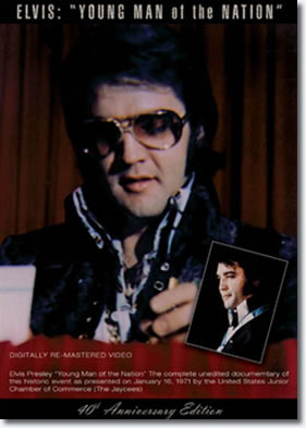 Elvis : Young Man of the Nation DVD from JAT
