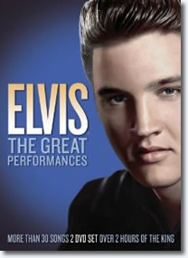 Elvis: The Great Performances 2 DVD Set : NTSC : Region 0