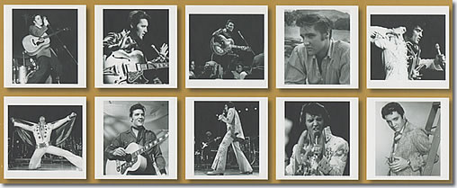 Elvis Presley : Music & Photo's Book, 2 CDs + Photos : The 10 photos.