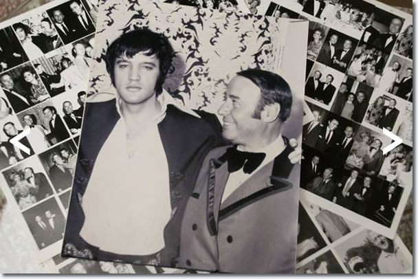 Elvis Presley and Emilio Muscelli.