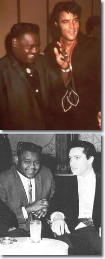 Fats Domino & Elvis Presley.