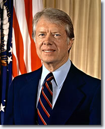 Jimmy Carter, the thirty-ninth President of the United States.