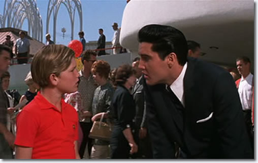 Kurt Russell and Elvis Presley in 'It Happened at the World's Fair'.