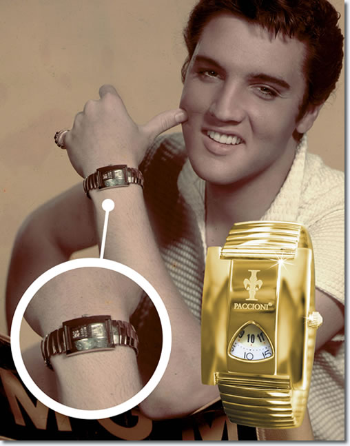 Elvis Presley Paccioni™ 'Lord Elgin' Retro Watch
