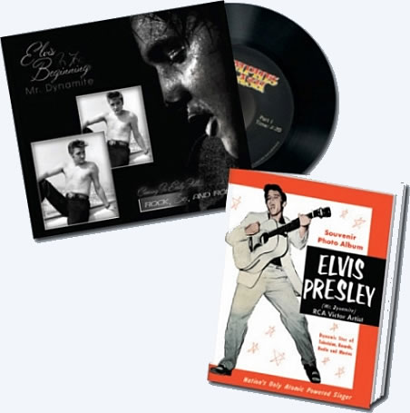 Elvis In The Beginning : Mr. Dynamite : Classic Memorabilia Booklet and Vinyl Record