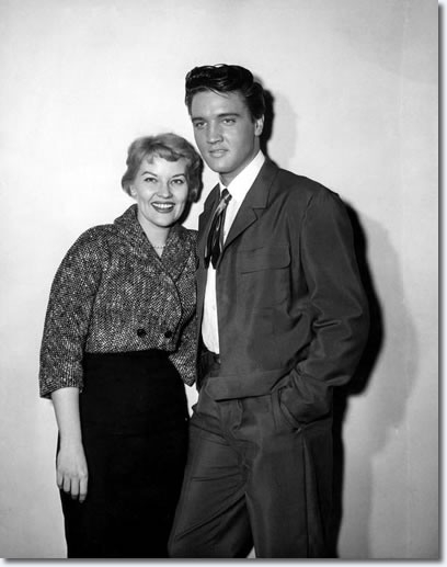 Patti Page with Elvis Presley