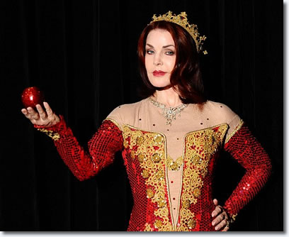 Priscilla Presley plays the Wicked Queen in Snow White And The Seven Dwarfs.