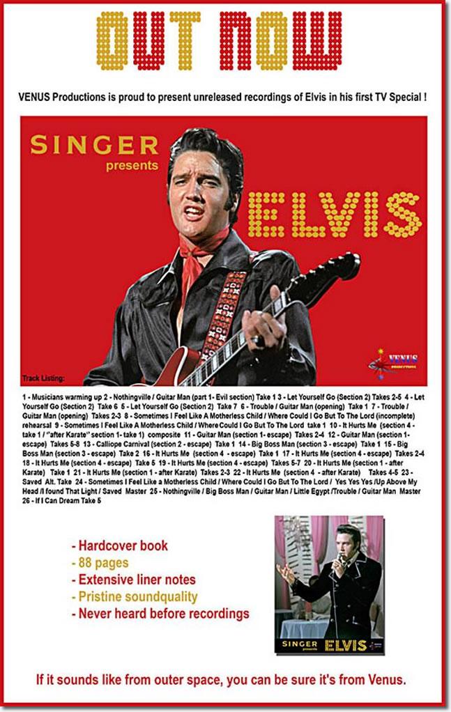 Singer Presents Elvis : Ferom Venus