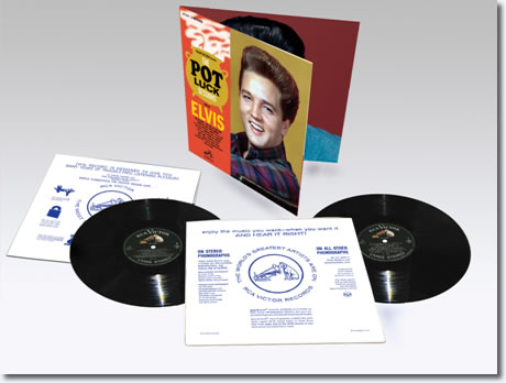 "The 'Pot Luck' Sessions limited edition 2-disc 12"" vinyl set."