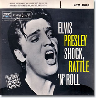 Elvis Presley : Shock Rattle & Roll CD.