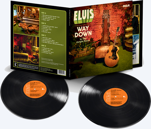 'Elvis : Way Down In The Jungle Room' 2 LP Record Set.